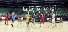 Hvězdy z NBA vystřihly Jingle Bells střelbou na koš