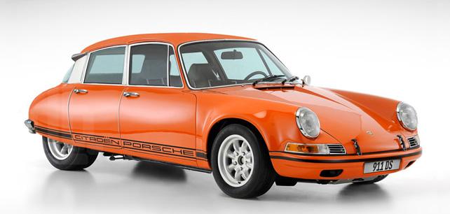 Nejkrásnější auto? Porsche Citroen 911 DS!
