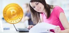 Platba Bitcoiny na vysoké škole