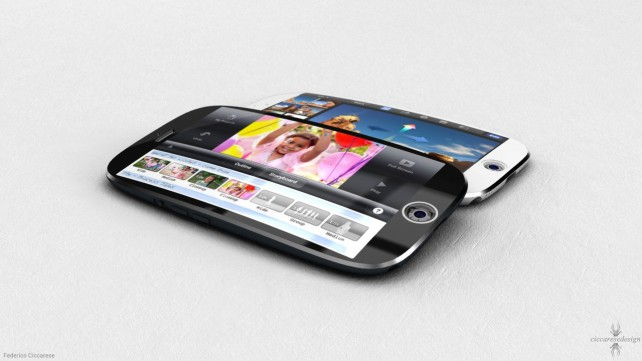 Prohnutý iPhone