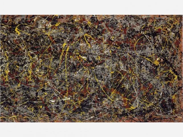 Jackson Pollock malba č.5 1948