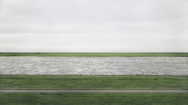 Fotografie Rhein II Andreas Gursky