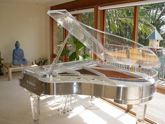 Crystal piano Heintzman