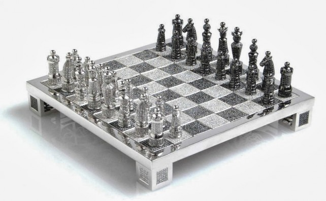 Šachy Charles Hollander set