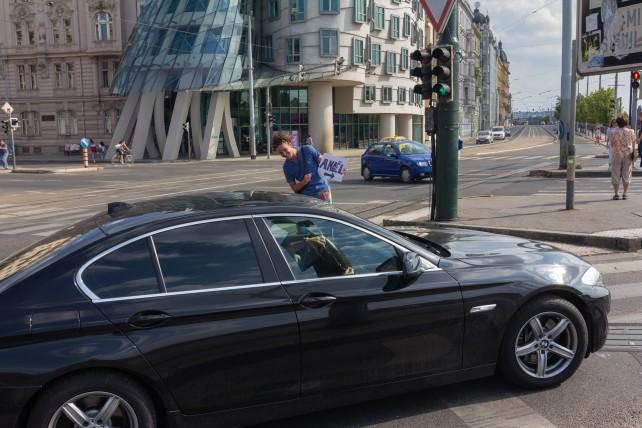 Stopování v Praze