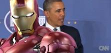 Obama sdělil světu, že USA staví Ironmana