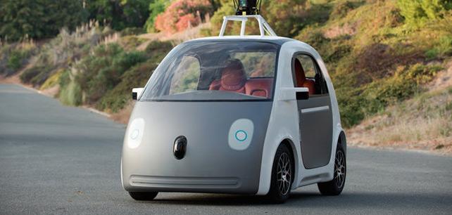 První projížďka v autě Google, které nepotřebuje řidiče