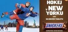 SOUTĚŽ: Podívejte se Snickers na zápas NHL nebo vyhrajte nový tablet
