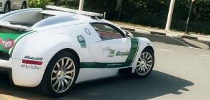 Exkurze do luxusních garáží policie z Dubaje