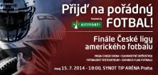 Pořádný fotbal? Přijďte na finále České ligy amerického fotbalu!