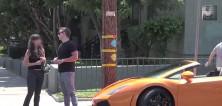 Zlatokopka opět nachytána na Lamborghini