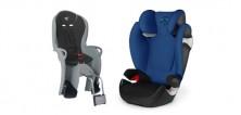 Autosedačky a cyklosedačky pro bezpečí dětí na cestách
